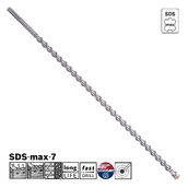Сверло по бетону Bosch SDS-max-7, 25x800x920 (2608586780)