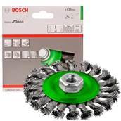 Щетка нержавеющая, кольцевая Bosch (2608622106), 115 мм