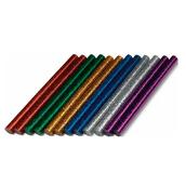 Клеевые стержни цветные с блестками Dremel (GG04), 7 мм