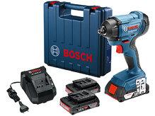 Аккумуляторный гайковерт Bosch GDR 180-LI  (06019G5120)