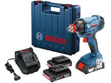 Аккумуляторный ударный гайковёрт Bosch GDX 180-LI (06019G5220)