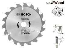 Пильный диск Bosch Eco Wood, 160 мм, 18 зуб. (2608644372)