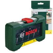 Набор фрез по дереву, Bosch 6 шт. хвостовик 8 мм (2607019463)