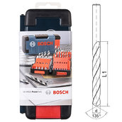 Набор сверл по металлу, Bosch HSS PointTeQ, 18 шт (2608577350)