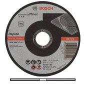 Круг отрезной по нержавейке, Bosch 125 х 1,0 мм (2608603171)