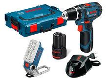 Аккумуляторный набор Bosch GSR 12V-15 + GLI 12V-330 (0615990FZ9)