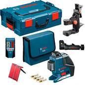 Нивелир лазерный, Bosch GLL 2-80 P + BM1 + LR2 (0601063209)