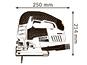 Лобзик электрический Bosch GST 150 BСE (0601513000)