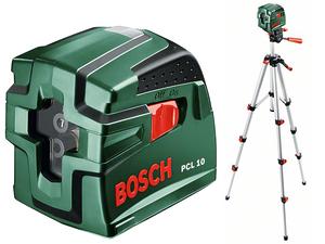 Линейный лазерный уровень Bosch PCL 10 Set (0603008121)