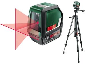 Линейный лазерный нивелир Bosch PLL 2 Set (0603663401)