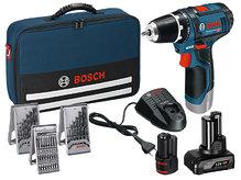 Аккумуляторный шуруповерт Bosch GSR 12V-15 Set+39 (0615990G6L)