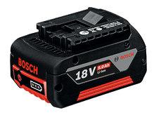 Аккумулятор Bosch GBA 18V 5,0Ah Li-Ion (1600A002U5)