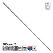 Сверло по бетону Bosch SDS-max-7, 25x1200x1320 (2608586781)