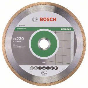 Круг алмазный Bosch Standard for Ceramic 230 x 25,40 x 1,6 x 7 mm