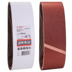 Шлифовальная лента Bosch, 75х533, К60 (1 шт)