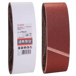 Шлифовальная лента Bosch, 75х533, К80 (1 шт)