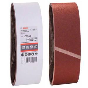 Шлифовальная лента Bosch, 75х533, К100 (1 шт)