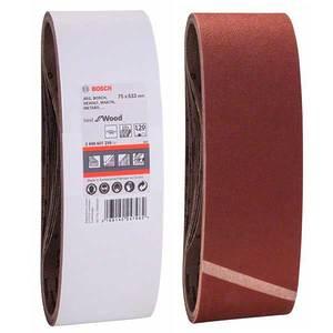 Шлифовальная лента Bosch, 75х533, К120 (1 шт)