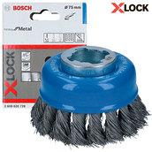 Чашечная щетка Bosch X-Lock, 75x0,35мм (2608620726)
