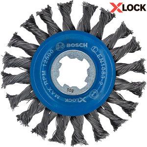Дисковая щетка Bosch X-Lock, 115x0,5 мм (2608620731)