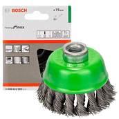 Щетка нержавеющая, чашечная Bosch (2608622060), 75 мм
