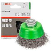 Щетка нержавеющая, чашечная Bosch (2608622061), 65 мм