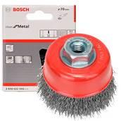 Круглая зачистная щетка Bosch (2608622098), 75 мм