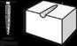Зазубренная насадка из карбида вольфрама игольчатой формы DREMEL 9931 (6,4 мм)