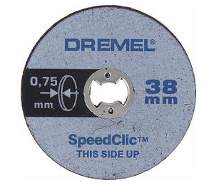 Круги отрезные по металлу Dremel SpeedClic SC409 (5 шт.)