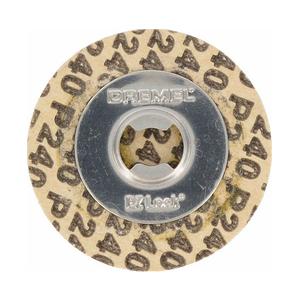 Круги шлифовальные абразивные Dremel (SC413), 30 мм, K240