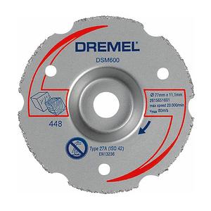 Многофункциональный отрезной круг для резки заподлицо, Dremel DSM600
