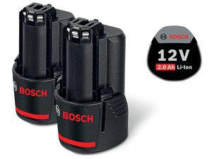 Аккумулятор Bosch 2 x GBA 12V 2,0Ah Li-Ion (1600Z00040)