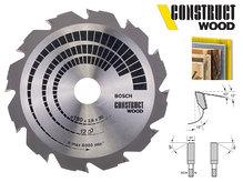 Циркулярный диск Bosch Construct Wood 190 мм, 12 зуб. (2608640633)