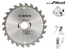 Пильный диск Bosch Eco Wood, 190 мм, 24 зуб. (2608644376)