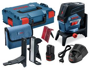 Комбинированный лазер Bosch GCL 2-50 C + RM2 + BM3 L-boxx (0601066G03)
