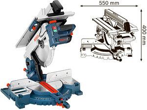 Комбинированная пила Bosch GTM 12 JL Professional (0601B15001)