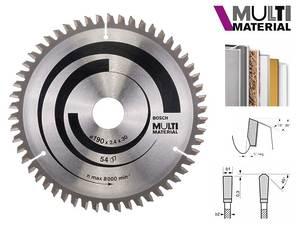 Циркулярный диск Bosch Multi Material 190 мм, 54 зуб. (2608640509)