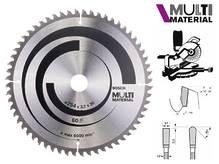 Циркулярный диск Bosch Multi Material 254 мм, 60 зуб. (2608640449)