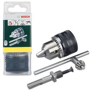 Зубчатый патрон Bosch + SDS-plus адаптер (2607000982)