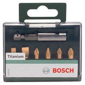 Набор бит Bosch Titanium, 7 шт (2609255985)