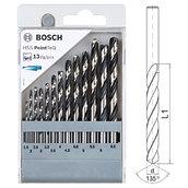 Набор сверл по металлу, Bosch HSS PointTeQ, 13 шт (2608577349)