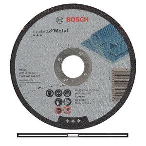 Круг отрезной по металлу Bosch, 125 х 2,5 мм (2608603166)