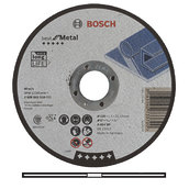 Круг отрезной по металлу Bosch, 125 х 1,5 мм (2608603518)