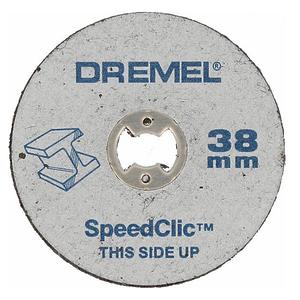Круги отрезные по металлу Dremel SpeedClic SC456 (5 шт.)