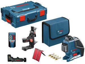 Нивелир лазерный, Bosch GLL 3-80 P + BM1 + LR2 (060106330A)