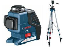 Нивелир лазерный, Bosch GLL 3-80 P + BT250 (060106330B)