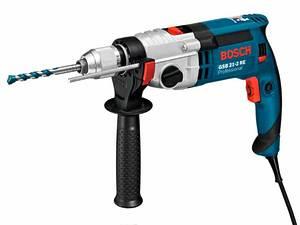 Ударная дрель, Bosch GSB 21-2 RE (быстрозажимной патрон) 060119C500