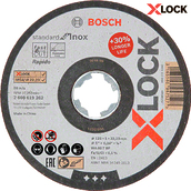 Круг отрезной Bosch X-Lock Standard for Inox, 125x1,0 мм (2608619262)