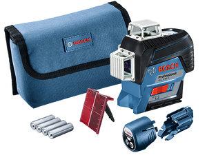 Линейный лазерный нивелир Bosch GLL 3-80 C (0601063R00)
