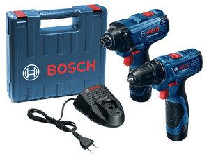 Набор акку. инструментов Bosch GDR 120 LI + GSR 120 LI (06019F0002)